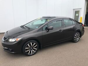 2013 Honda Civic Sdn Touring nice leather