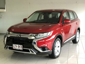 2021 Mitsubishi Outlander ZL MY21 ES AWD Red 6 Speed Constant Variable Wagon Ashmore Gold Coast City Preview