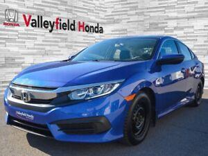 2016 Honda Civic Sedan LX  BLUETOOTH APPLE CARPLAY ANDROID AUTO