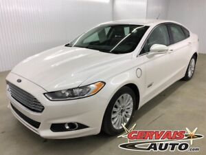 2016 Ford Fusion Energi Energy Plug in Hybrid SE Luxury Cuir Mag