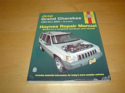 HAYNES JEEP GRAND CHEROKEE WJ ZJ LAREDO LIMITED Owners Service Manual