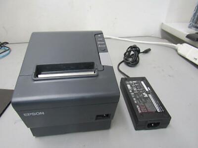 Epson Tm-t88v M244a Usb Thermal Receipt Printer Wps-180 Power Supply