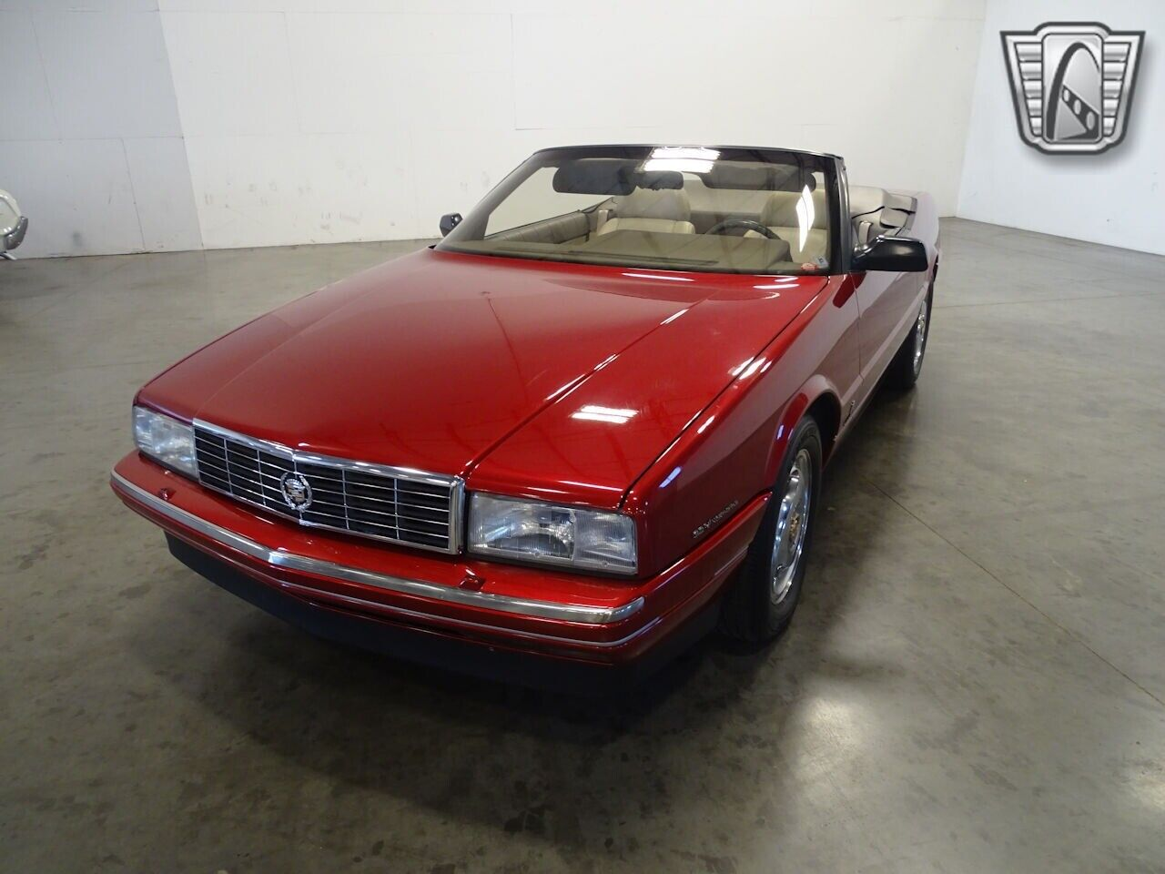 Red 1993 Cadillac Allante Actual Miles, Low Miles 4.6L V8 F DOHC 32V 4 Speed Aut