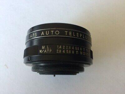 APS 2x teleconverter lens for M42 screw mount cameras - Made in Japan