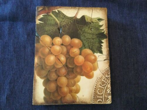 "Sid Dickens T-110 Memory Block ""Grapes"""