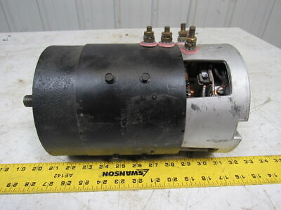 Taylor-dunn 70-049-50 4258 Electric Motor Dc Threaded Keyed Shaft