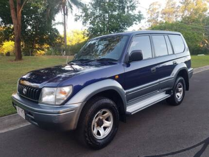 TOYOTA LANDCRUISER PRADO GXL** 8 SEATER AUTOMATIC** VERY TIDY!!! Camira Ipswich City Preview