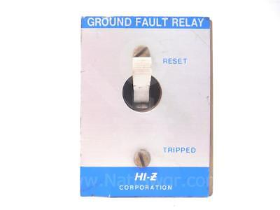 Azm31 Ab - Hi-z Corp Ground Fault Relay Sku014066