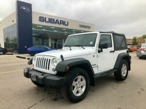 2015 Jeep Wrangler Sport - LOW KM/ONE OWNER/LOCAL TRADE