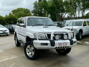 2007 Nissan Patrol GU 5 MY07 ST White 4 Speed Automatic Wagon South Toowoomba Toowoomba City Preview