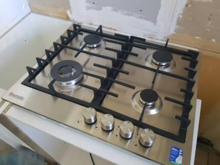 Baumatic BP64S 60cm Gas Cooktop 4 Burners - New