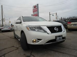 2016 Nissan Pathfinder SL 4WD LEATHER 7 SEATERS, PANORAMIC SUNRO