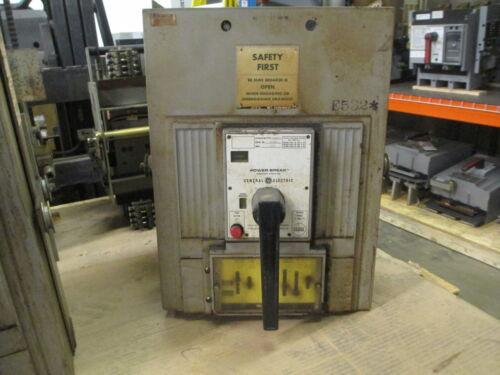 Ge Powerbreak Tpss6612g 1200a 3p 600v Mo/do Circuit Breaker W/ Lig Used E-ok