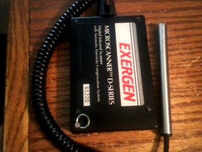 Nice ......... Exergen D501 Temperature 190-1200f Or 87-648c Microscanner