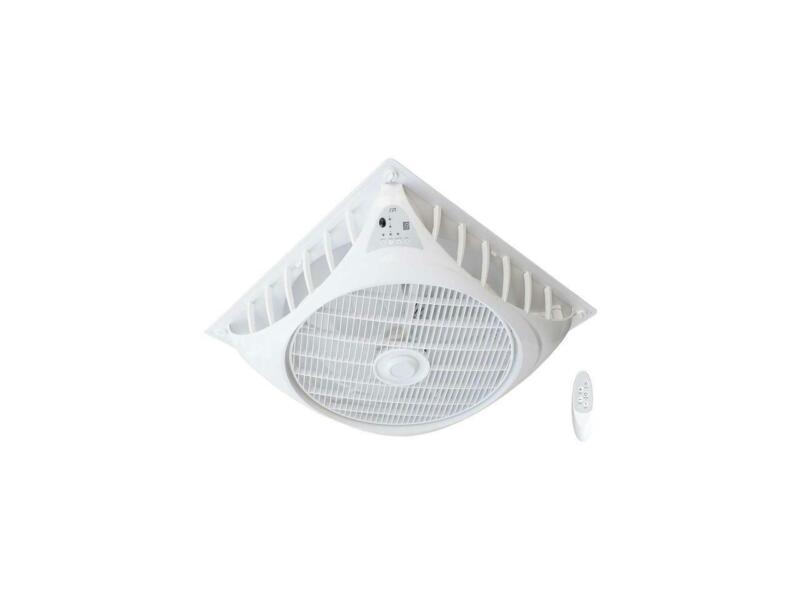 SPT 9-Speed Drop Ceiling Fan White SF-1691C