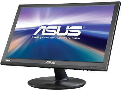 """ASUS - VT168H 15.6"""" LED HD Touch-Screen Monitor - Black"""
