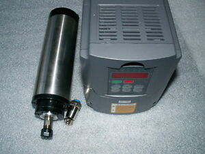 WATER-COOLED-100MM-3KW-380V-ER20-COLLET-SPINDLE-MOTOR-MATCHING-INVERTER-VFD-CNC