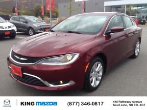 2016 Chrysler 200 Limited SLEEK STYLING..HEATED SEATS..BLEUTOOTH