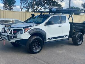 2011 MAZDA BT-50 XT UP 4X4 FREESTYLE SPACE CAB 4DRS  5CYL 3.2L T DIESEL 6SPEED ARB BULL BAR WITH SPO Lansvale Liverpool Area Preview