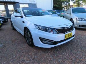 2012 Kia Optima TF MY12 Platinum White 6 Speed Sports Automatic Sedan Minchinbury Blacktown Area Preview