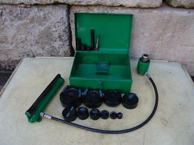 Greenlee 7310 Hydraulic Knockout Punch And Die Set 12 To 4
