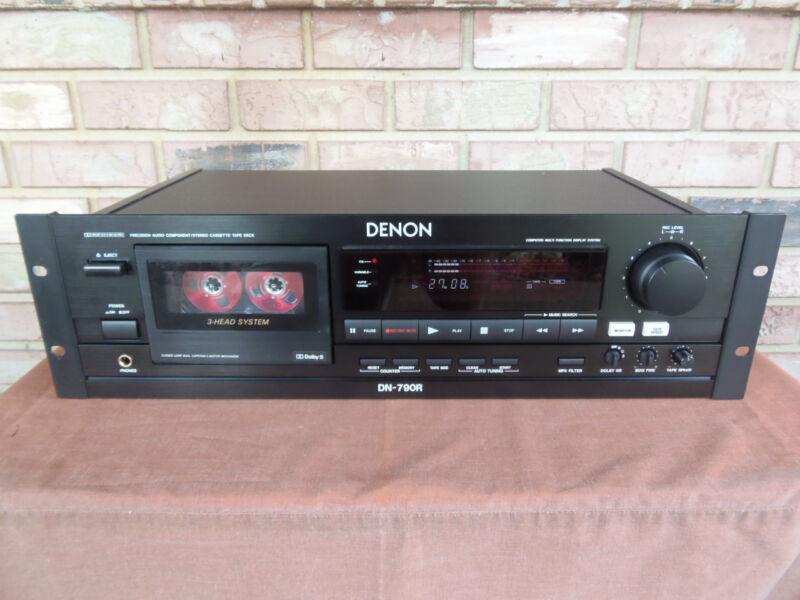 Denon DN-790R Three Head Professional Cassette Deck
