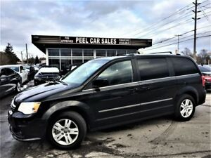 2017 Dodge Caravan Crew Plus|NAV|LEATHER|REARVIEW|7 PASSENGER
