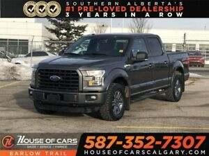 2016 Ford F-150 XLT / Leather Seats / Navi / Panoramic Sunroof