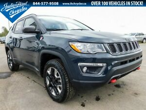2017 Jeep All-New Compass Trailhawk 4x4 | DEMO | Leather | Nav