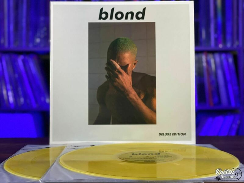 Frank Ocean- Blond Deluxe Edition White Cover Blonde Vinyl LP