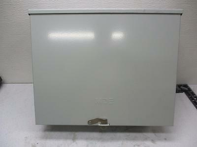 Mde Transformer Cabinetelectrical Enclosure 12x10.5x5.5 No. 4 Pole Block