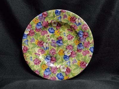 Royal Winton Sweet Pea, Chintz, Yellow Background: Bread Plate (s), 6 3/4