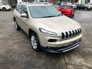 2014 Jeep Cherokee KL MY15 Limited Gold 9 Speed Sports Automatic Wagon Croydon Maroondah Area Preview