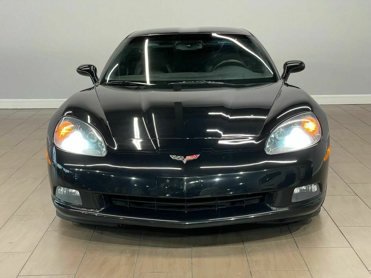 2010 Black Chevrolet Corvette     C6 Corvette Photo 6