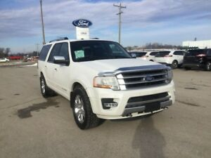 2016 Ford Expedition Platinum | 4X4 | One Owner | Nav | Heated S