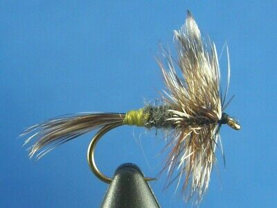 Irresistible Adams Trout Fly Size 14 Natural 1 Dozen 12 Dry Flies F744