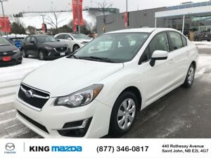 2015 Subaru Impreza 2.0i AWD..SPORTY SEDAN..BLUETOOTH...PEARL WH