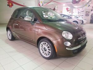 2013 Fiat 500 LOUNGE * CONVERTIBLE *AUT * BLUETOOTH * MAGS *