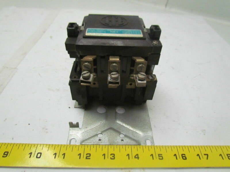 ITE A103B Size 0 Contactor 600VAC Max 20A Max.3 Pole 3 Phase