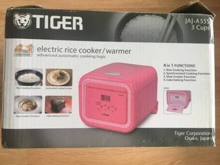 Tiger Electric Rice Cooker Warmer Jaj-A55s 3cups Passion Pink