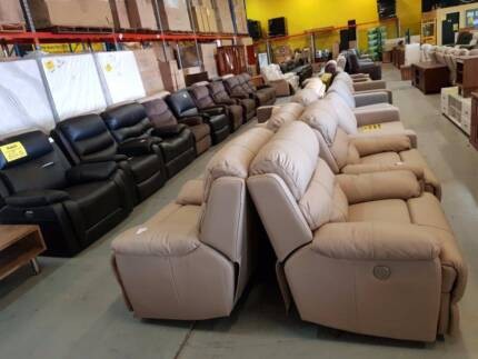 CHEAP! HUGE range of recliners! Manual, electric, leather, fabric