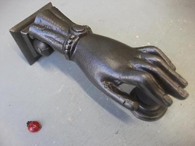 ladies hand Cast Iron Door Knocker -  copy