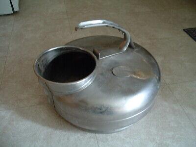 Surge Stainless Steel Milker Bucket Flower Pot Planter Garden Decor Milk Can Ss