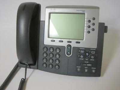 Lot Of 5 Cisco Cp-7960g Ip Phone Handset Stand 7960 Business Telephone Nice