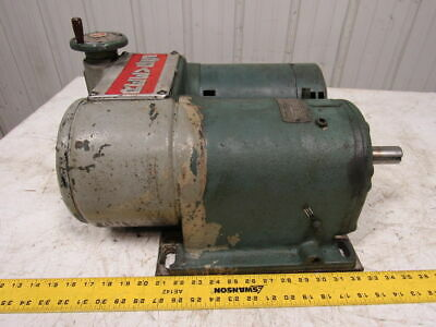 Reeves Motodrive 112-h1e-18 Varispeed Parallel Drive 34hp 21-84rpm 27.81