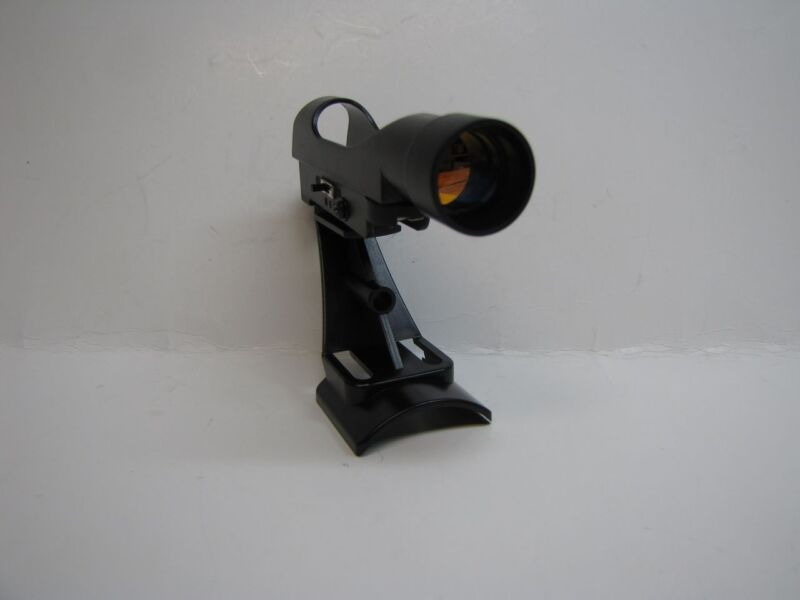 Red Dot Telescope Viewfinder Finder with Fixed Base Bracket Ruby Coated Lens