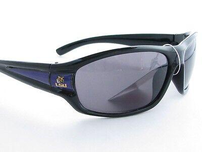 Louisiana State Tigers Black Purple Mens Sunglasses LSU Licensed (Lsu Sunglasses For Men)