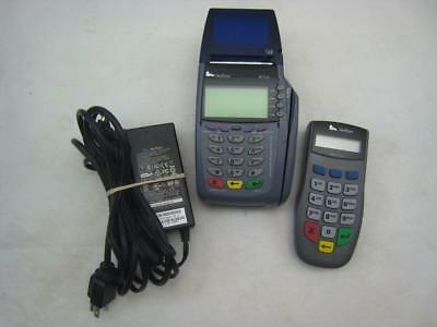 Verifone Point Of Sale Credit Card Terminal Omni 5100 Vx510 With Pinpadadapter