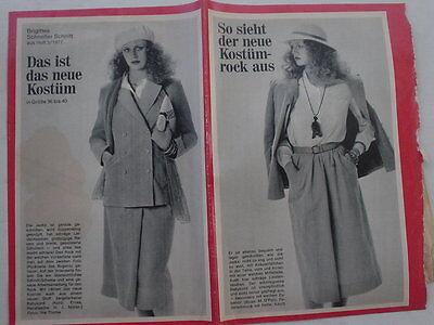 Schnitt 3/77 Kostüm Schnittmuster 70er J vintage Rock Jacke (Schnelle Kostüme)