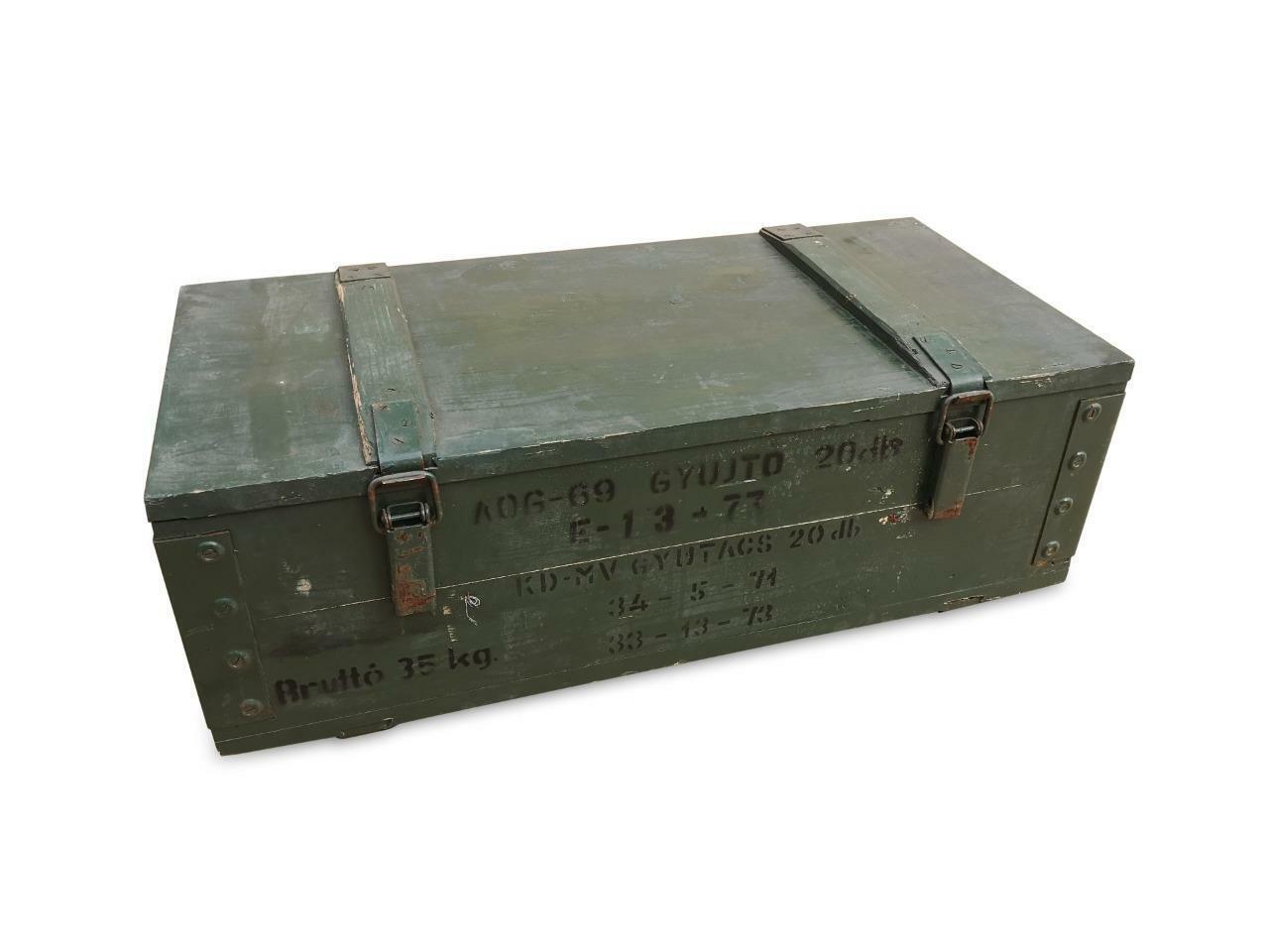 Originale Munitionskiste Holzkiste Lagerkiste Werkzeugkiste Transportkiste SKW8